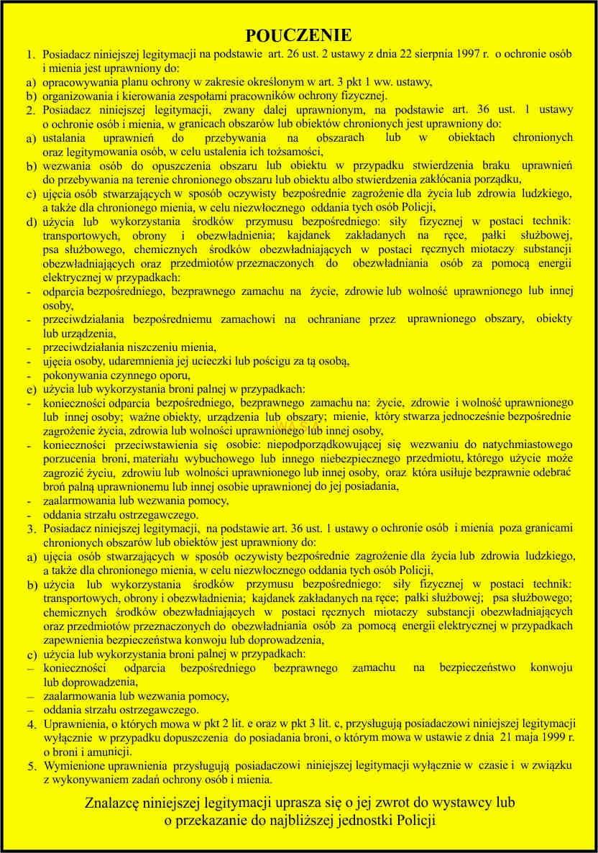 podręcznik pracownika ochrony fizycznej